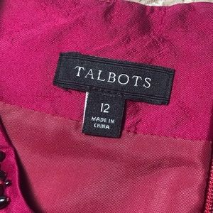 Talbots Tops - 🆕Talbots Bejeweled Silk Sleeveless Blouse